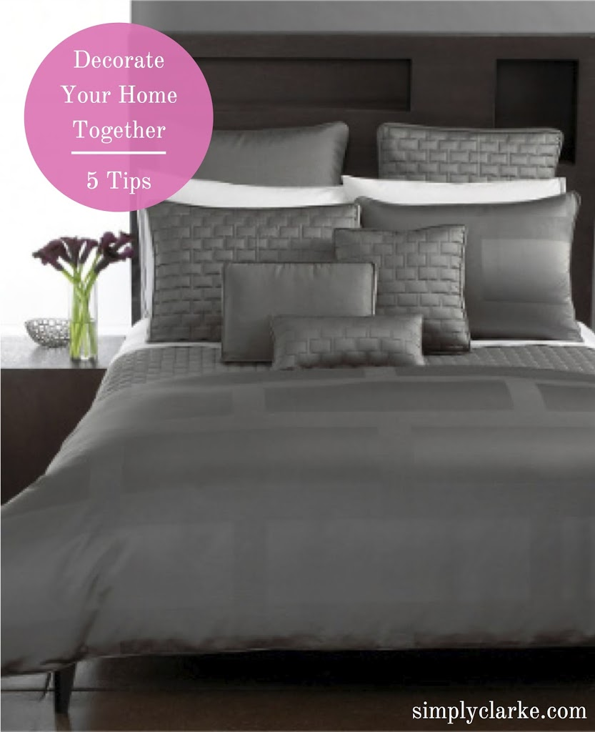 5 Tips on Decorating Your Home Together