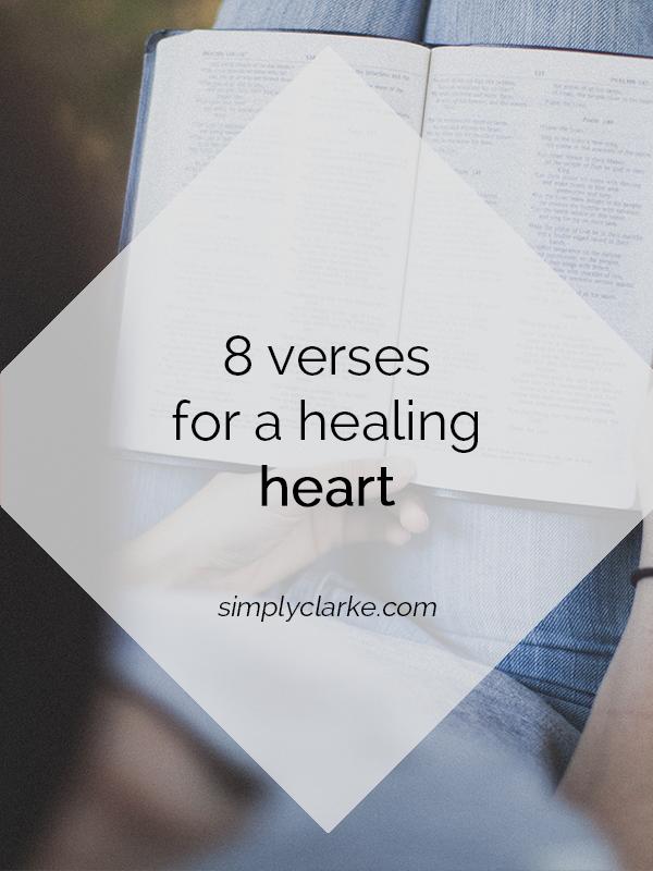 8 Verses for a Healing Heart
