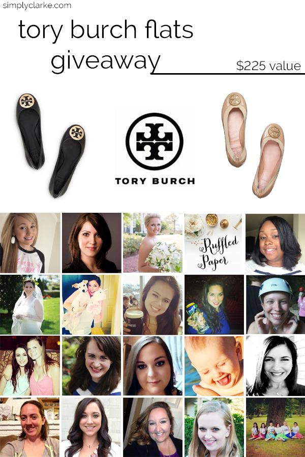 Tory Burch Flats Giveaway