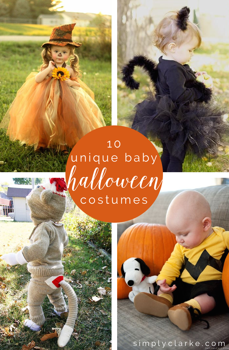 10 Unique Baby Halloween Costumes