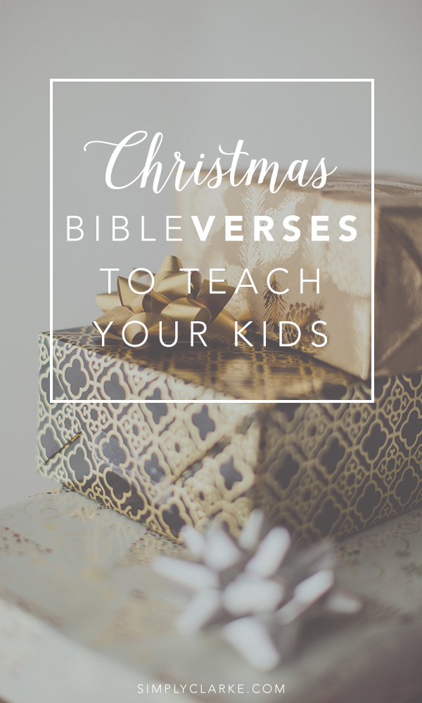 7 Christmas Bible Verses To Teach Your Kids