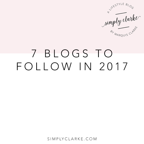 7 Blogs To Follow in 2017